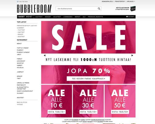 Bubbleroom alennuskoodi ja kokemuksia 9d3e488877