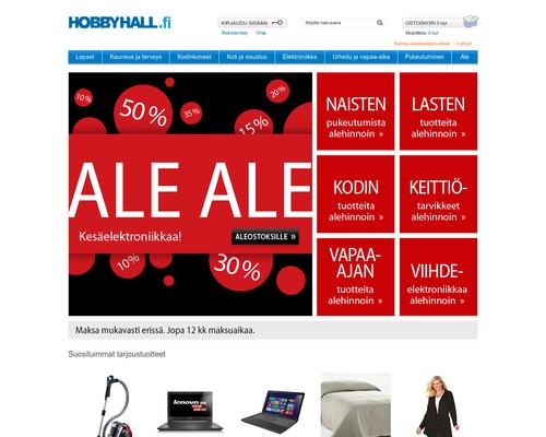 Hobby Hall alennuskoodi ja kokemuksia