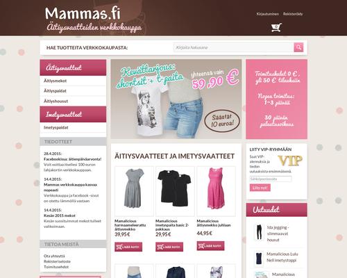 Mammas.fi alennuskoodi ja kokemuksia 23b7c19ebe